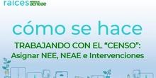 Actualización del CENSO NEAE en los centros educativos