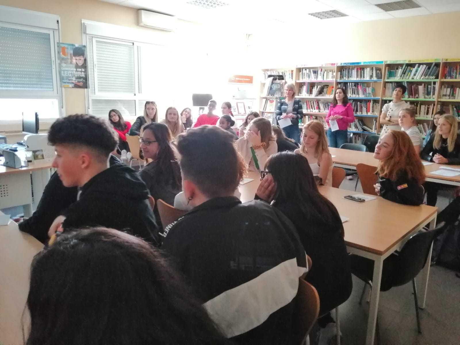 Visita de alumnos daneses al instituto 2