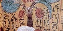 Pinturas en Deir-el-Medina, Egipto