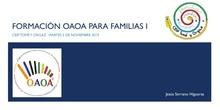 I Taller familias. Movimiento OAOA Matemáticas