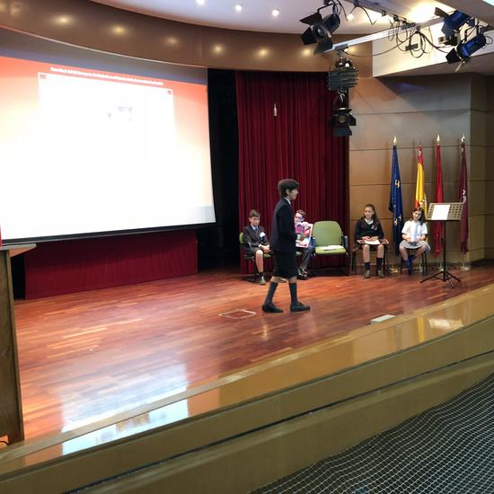 Fase final del III Concurso de Oratoria en Primaria de la Comunidad de Madrid 4