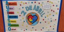 Día del autismo CEIP Fernando el Católico