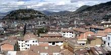 Panorámica de la Ciudad Vieja de Quito, Ecuador