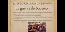 5º sociales Los borbones en España