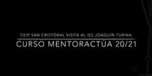MentorActúa 20/21 CEIP San Cristóbal visita al IES Joaquín Turina