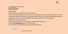 Agradecimiento Asociación Bubisher