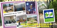 Jornada Puertas Abiertas 2021_Presentacion_CEIP FDLR_Las Rozas