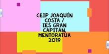 Mentoractúa 2019- CP Joaquín Costa /IES Gran Capitán