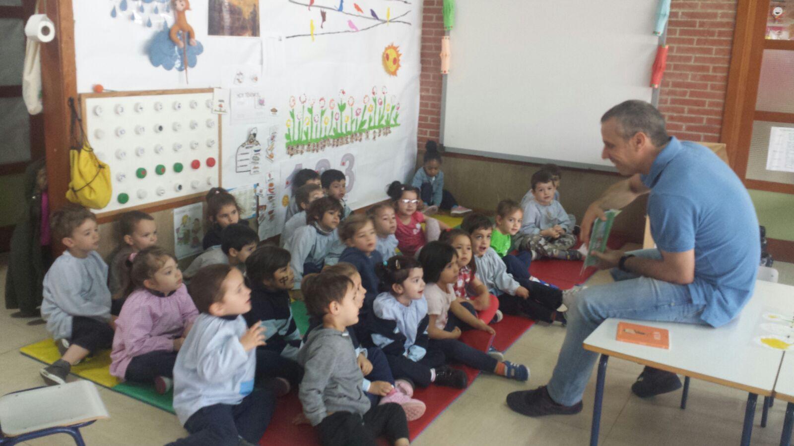 Infantil 3a_Cumpleaños YoLeo_CEIP FDLR_Las Rozas 1
