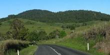 Carretera de interior, Queensland, Australia