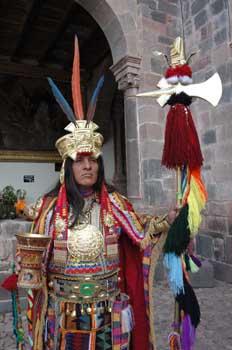 Indumentaria inca, Perú