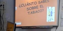 Charla sobre el tabaco