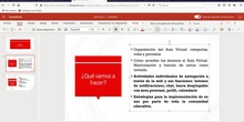 Aula Virtual - Chat y bloc de notas