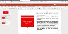 Aula Virtual - Chat y bloc de notas
