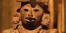 Escultura indígena de Oaxaca, México