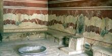 Salón del Trono del Palacio de Cnosos, Creta