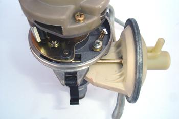 Distribuidor de encendido electrónico. Detalle del sistema de av