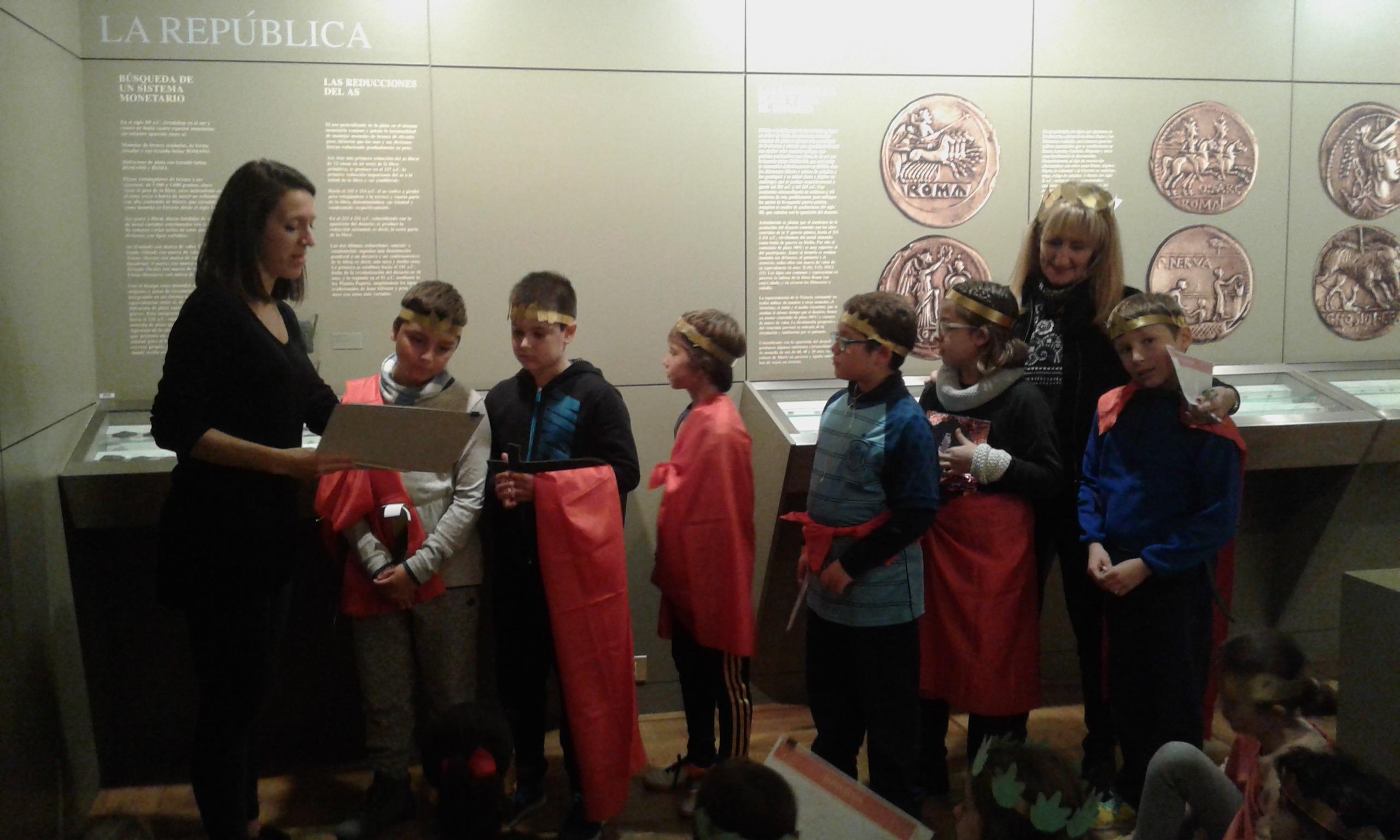 Visita al museo de la moneda. 1