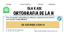 Reglas de la H - Ortografía - Conocimiento de la lengua - Área de Lengua - 5º y 6º Primaria