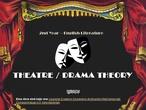 Theatre - Basic concepts
