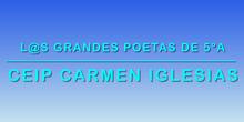 Poetas de 5ºA