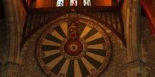 Mesa redonda del rey Arturo, castillo de Winchester