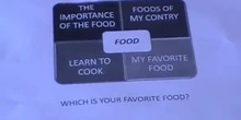 "My own topic ""Food"" (IES Arcipreste de Hita)"
