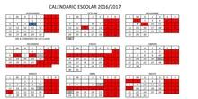 CALENDARIO ESCOLAR 1617