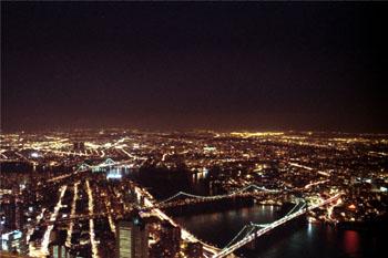 Nueva York por la noche, Estados Unidos