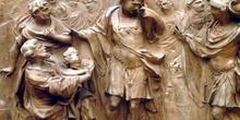 Julio César ante la Cabeza de Pompeyo