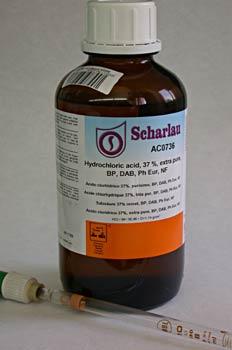 ácido hidroclorídrico
