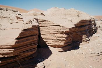 Maqueta en el desierto, Namibia