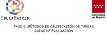 Guías de evaluación en el Aula Virtual