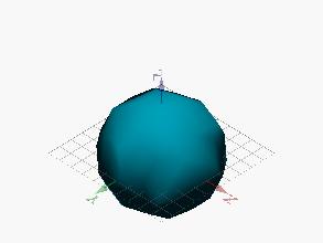Poliedro limitado por pentágonos y hexágonos