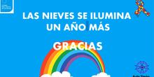 Nuestra Sra de las Nieves. Día mundial concienciacion sobre el Autismo.