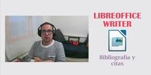 LibreOffice Writer - Citas y referencias bibliográficas