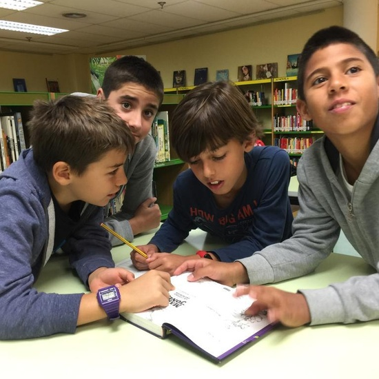 2019_Quinto B visita la biblioteca municipal_CEIP FDLR_Las Rozas 7