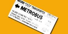 Billete de metrobus