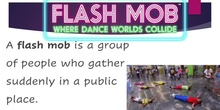 Second grade flash mob (jornadas del humor)