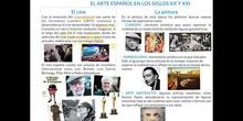 ARTE ESPAÑOL SIGLO XX Y XXI