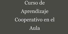 Curso Aprendizaje Cooperativo en el Aula. Presentación