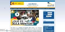 Presentación Aula Virtual Aula Mentor
