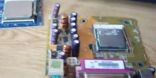 Montaje de microprocesadores en su zócalo
