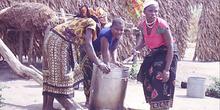 Mujeres cocinando, Nacala, Mozambique