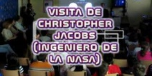 Visita de Christopher Jacobs (NASA)