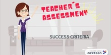 Teacher's assessment