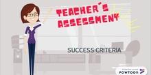 Teacher's assessment