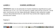 Colección FUENTES Historia de España 2ºBACH