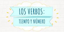 Los verbos: número y tiempo