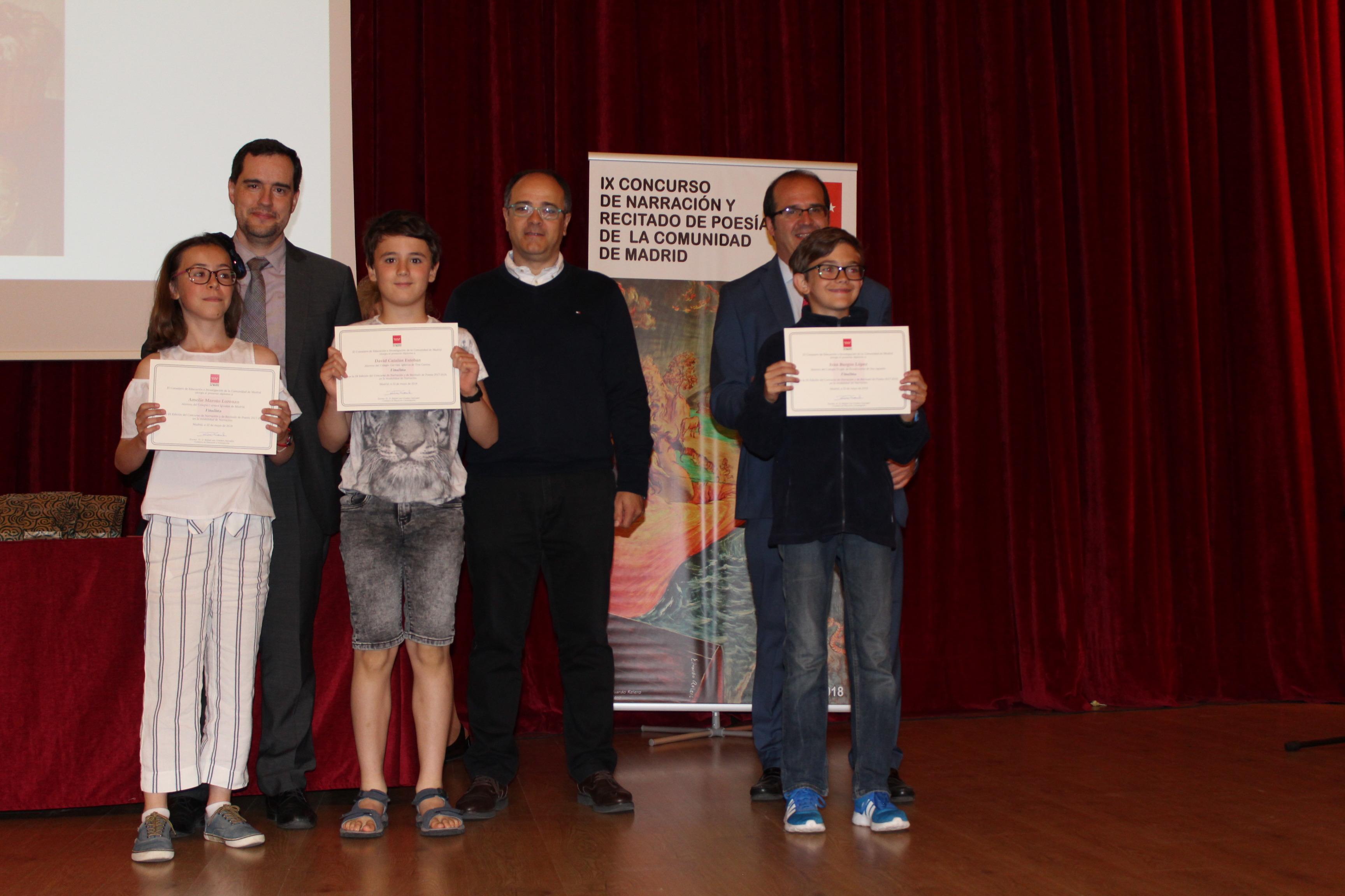 Entrega de los premios del IX Concurso de Narración y Recitado de Poesía 4